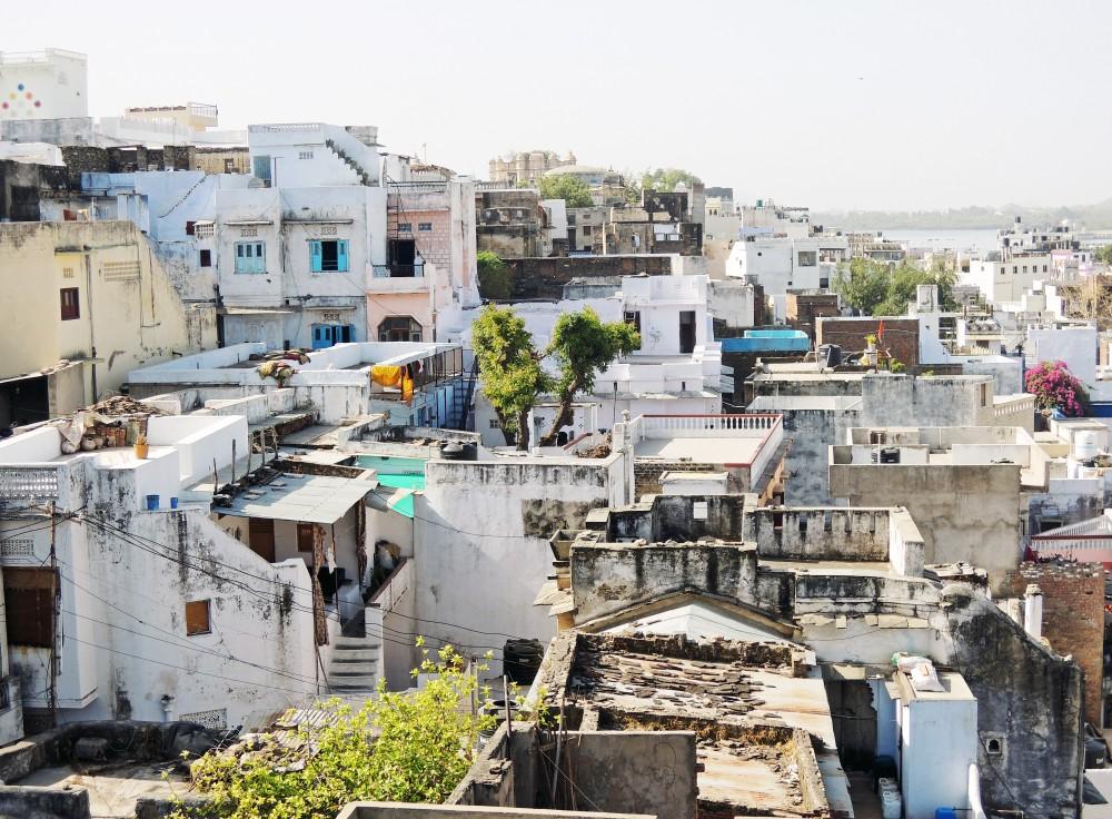 Veduta di Udaipur, India