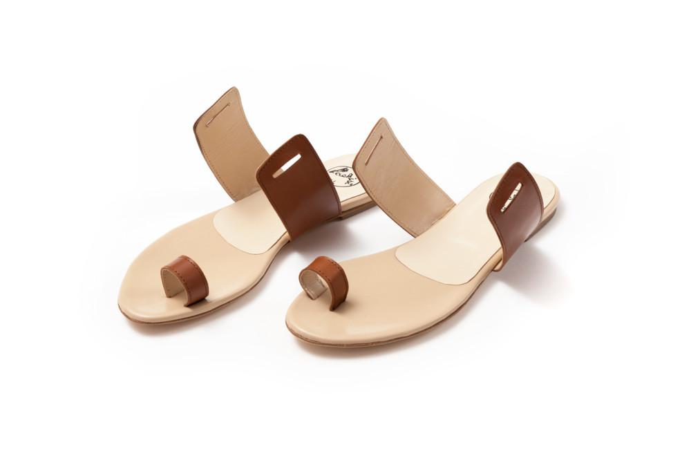 sandali artigianali in pelle