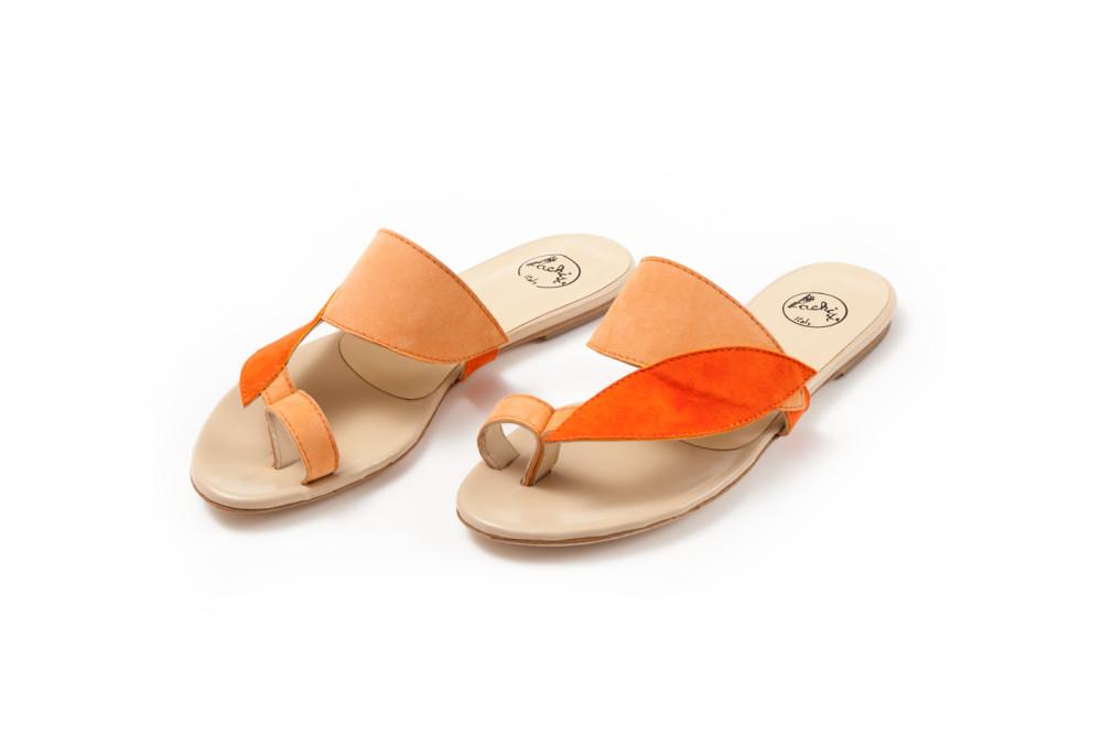 sandali in camoscio